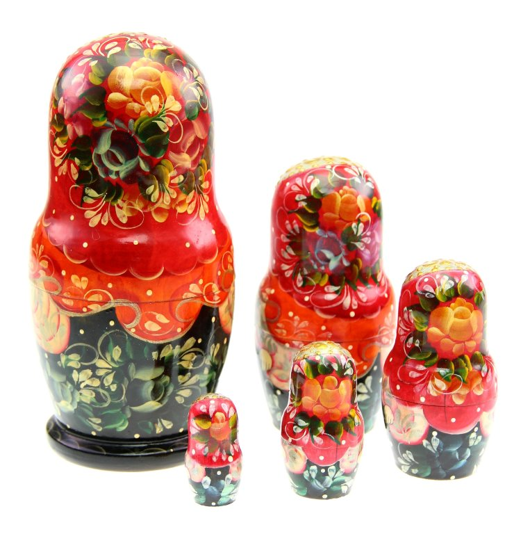 Matrjoschka Puppe