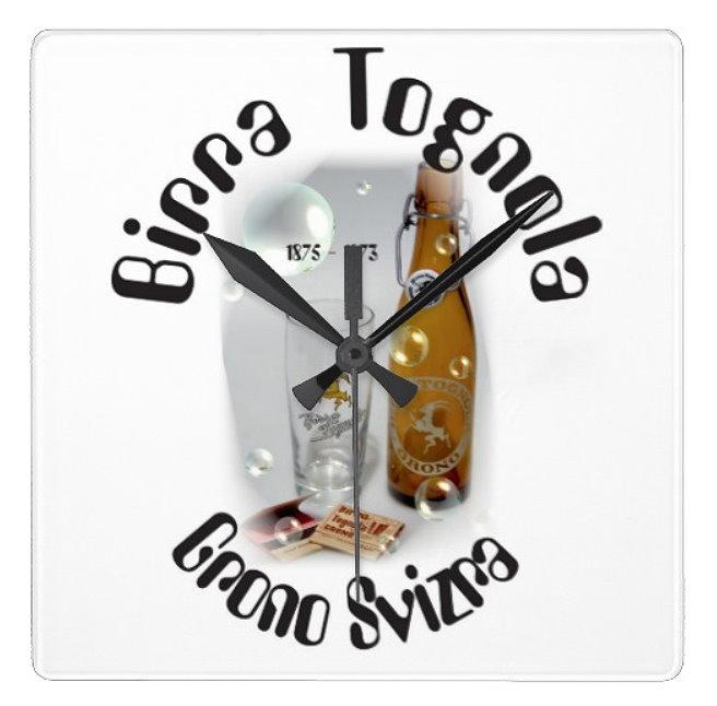 Birra Tognola Grono Uhr